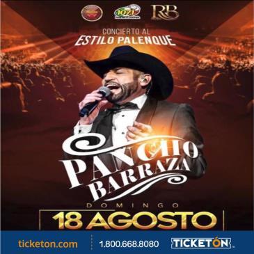 """""""PANCHO BARRAZA"""" JARIPEO Y CONCIERTO ESTILO PALENQUE"""