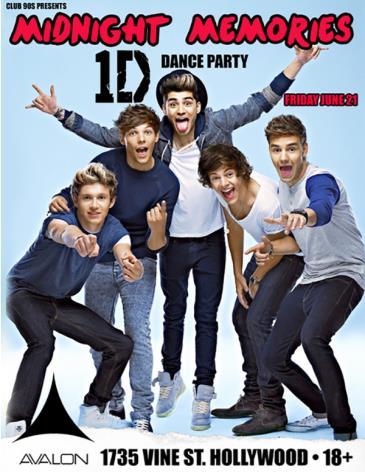 Midnight Memories • One Direction Night: Main Image