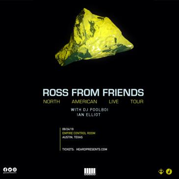 Ross from Friends with DJ Poolboi, Ian Elliot-img