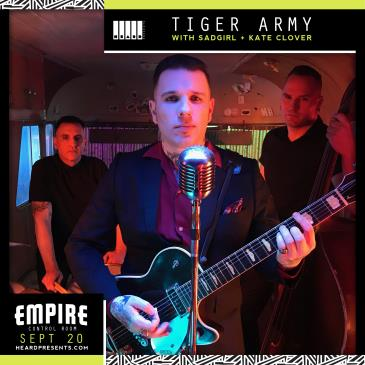 Tiger Army with SadGirl and Kate Clover: Main Image