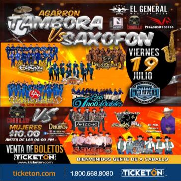 AGARRON TAMBORA VS SAXOFON