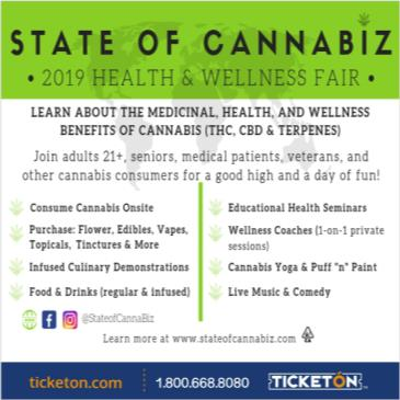 STATE OF CANNABIZ 2019 HEALTH AND WELLNESS