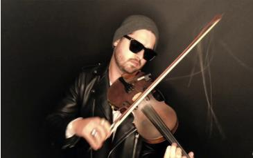 Hip-Hop Violinist Rhett Price: Main Image