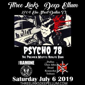 Psycho 78 (Misfits tribute), Dallas Uber Alles (DK tribute): Main Image