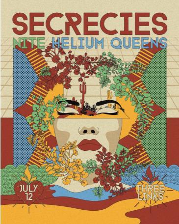 Secrecies (Album Release), NITE, Helium Queens, Zoe Zobrist: Main Image