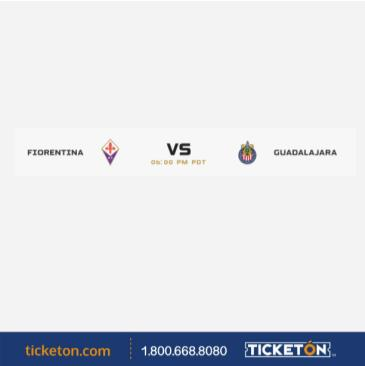 ACF FIORENTINA VS CHIVAS: Main Image