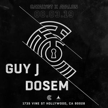 Catalyst Presents Guy J,  Dosem: Main Image