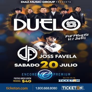 DUELO Y JOSS FAVELA