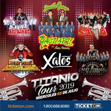 TITANIO TOUR 2019 EN ANAHEIM