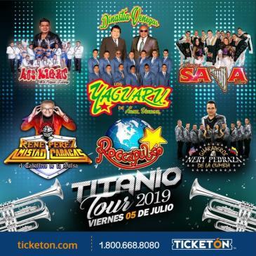 TITANIO TOUR 2019 EN SAN FRANCISCO