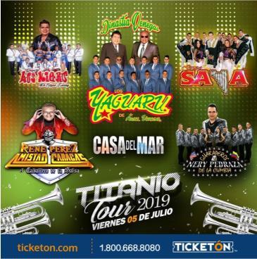 TITANIO TOUR 2019 EN SANTA ROSA: Main Image