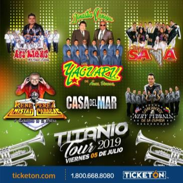 TITANIO TOUR 2019 EN SANTA ROSA