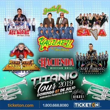 TITANIO TOUR 2019 EN SALINAS