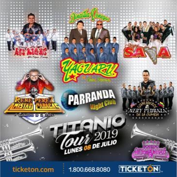 TITANIO TOUR 2019 EN SUNNYVALE