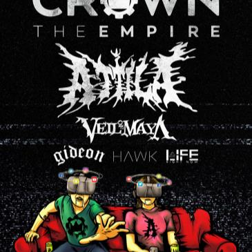 Crown The Empire – Rage Fest with Attila-img