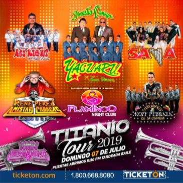 TITANIO TOUR 2019 EN STOCKTON