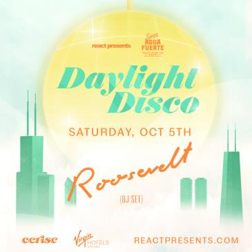 DAYLIGHT DISCO: Roosevelt (DJ set): Main Image
