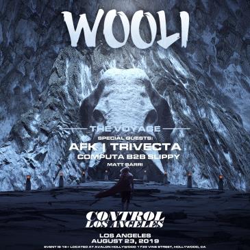 The Voyage: Wooli, AFK, Trivecta, Computa b2b Slippy: Main Image