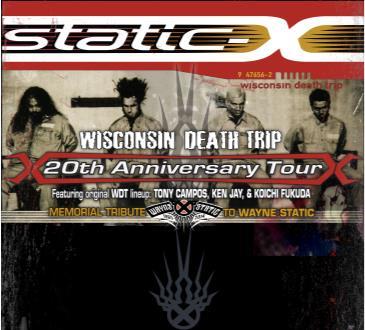 "Static X  ""20th Anniversary Tour: Main Image"