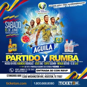 PARTIDO Y RUMBA - WATCH PARTY: Main Image