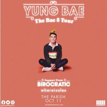 YUNG BAE w/ Birocratic and whereisalex: Main Image