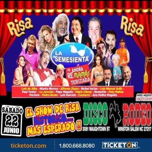 La Semesienta Winston Salem Tickets Boletos Disco Rodeo