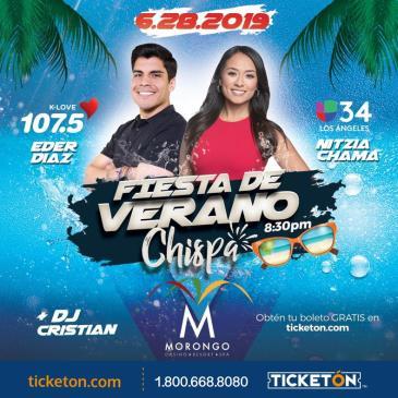 K-LOVE 107.5 PRESENTA FIESTA DE VERANO CON CHISPA