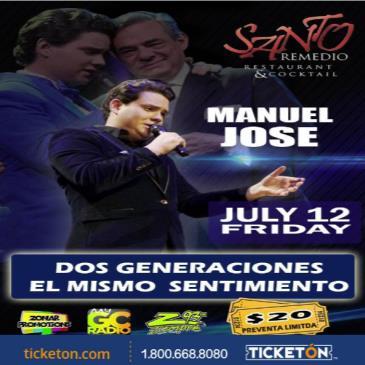 "Manuel Jose ""Tributo a Jose Jose"" Laredo"