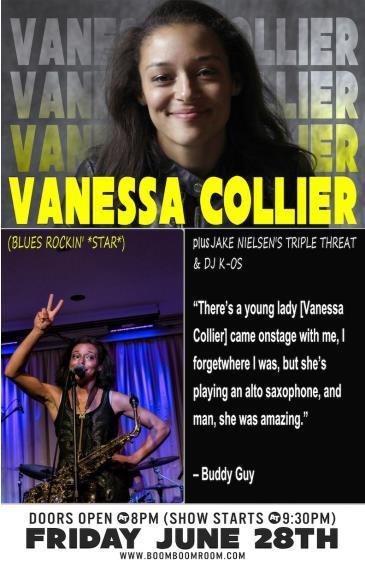 VANESSA COLLIER  (Blues Rockin' *Star*) + Jake Nielsen: Main Image