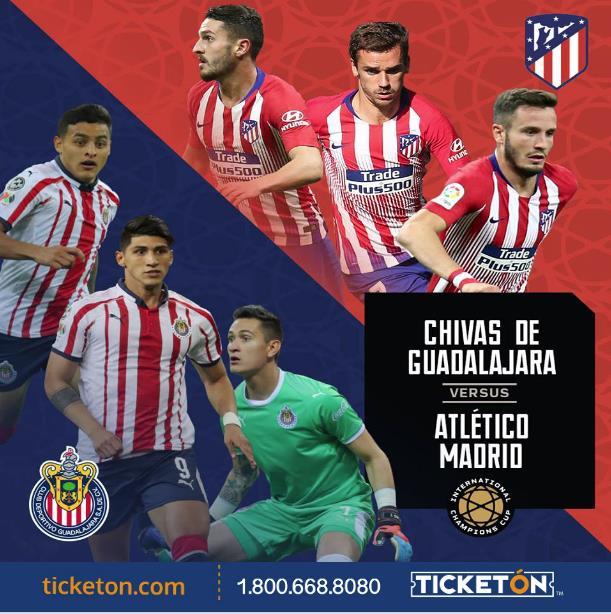 اتلتيكو مدريد وديبورتيفو جوادالاخارا بث مباشر