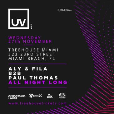 Aly & Fila x Paul Thomas @ Treehouse Miami: Main Image