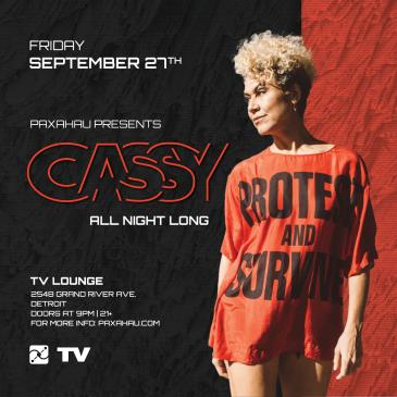 Paxahau Presents: Cassy (All Night Long): Main Image