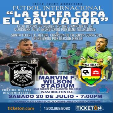 LA SUPERCOPA DE EL SALVADOR