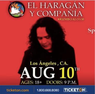EL HARAGAN EN LOS ANGELES: Main Image
