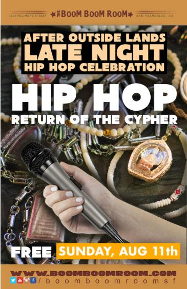 Return Of The Cypher (NoCover) Live Hip-Hop *FEST AFTERPARTY: Main Image