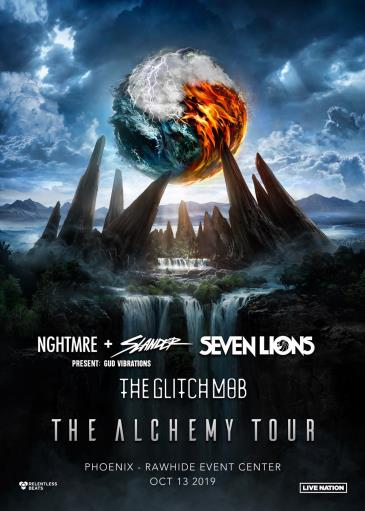 Alchemy Tour: NGHTMRE + Slander, Seven Lions, The Glitch Mob: Main Image