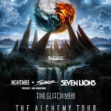 Alchemy Tour: NGHTMRE + Slander, Seven Lions, The Glitch Mob-img