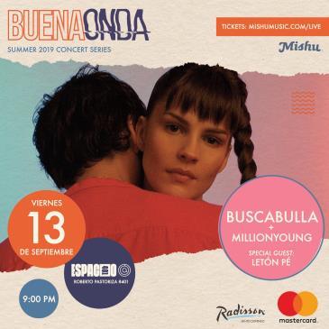 Buena Onda: Buscabulla & Millionyoung: Main Image