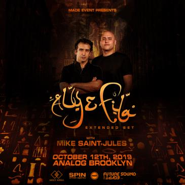 Aly & Fila at Analog Brooklyn: Main Image
