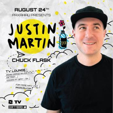 Paxahau Presents: Justin Martin: Main Image