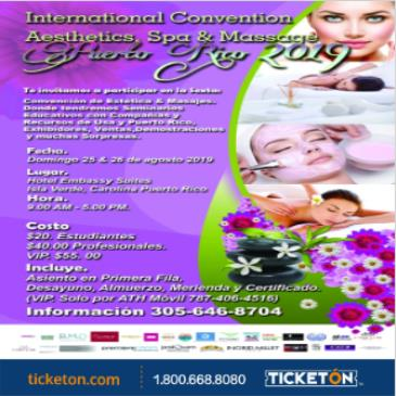INTERNATIONAL CONVENTION AESTHETICS, SPA & MASSAGE