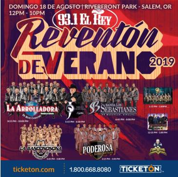 REVENTON DE VERANO 2019: Main Image