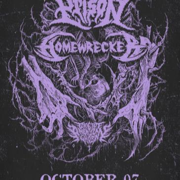 Venom Prison and Homewrecker with Great American Ghost-img