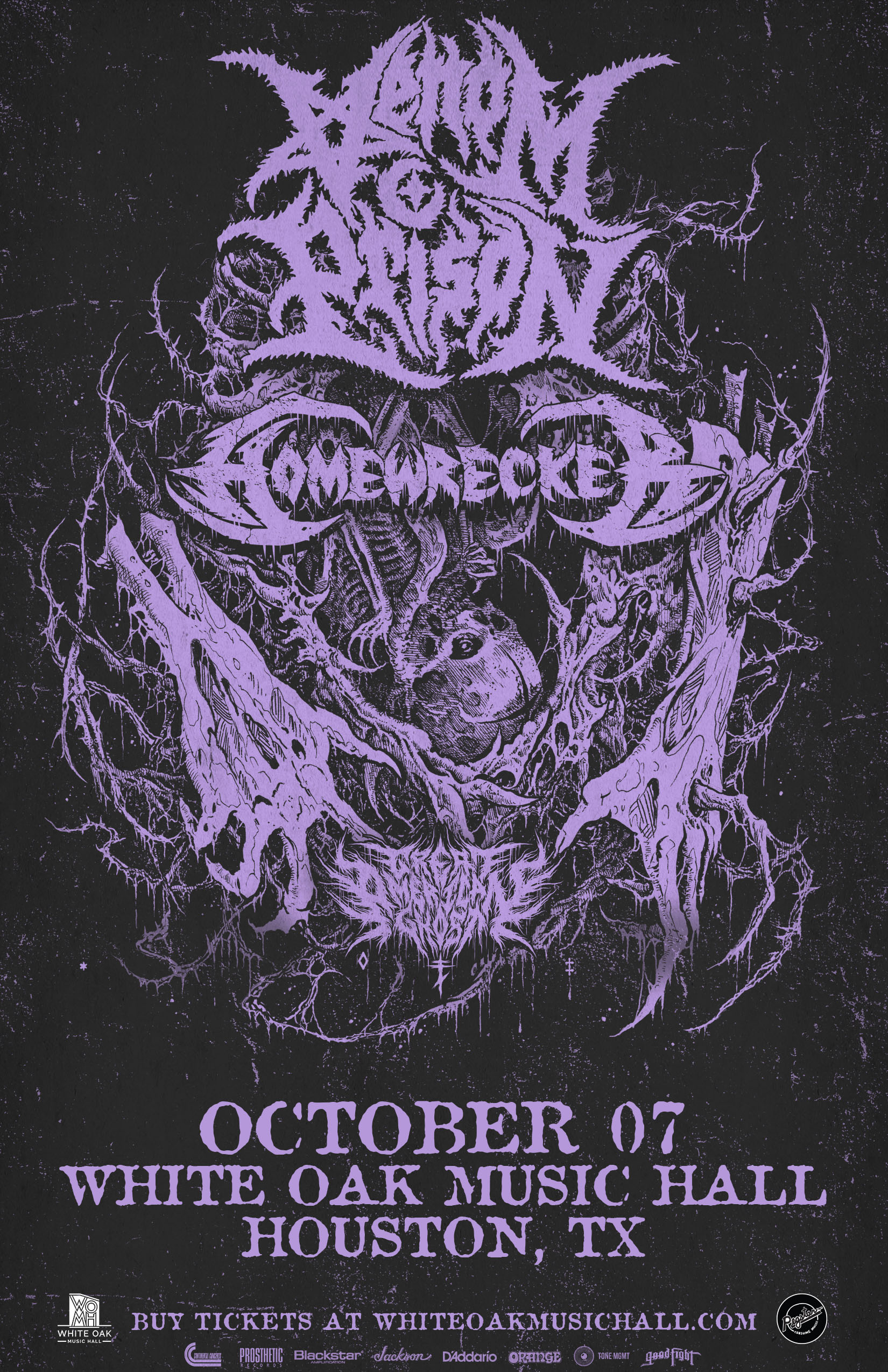 Buy Tickets to Venom Prison and Homewrecker with Great