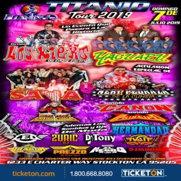 TITANIO TOUR 2019