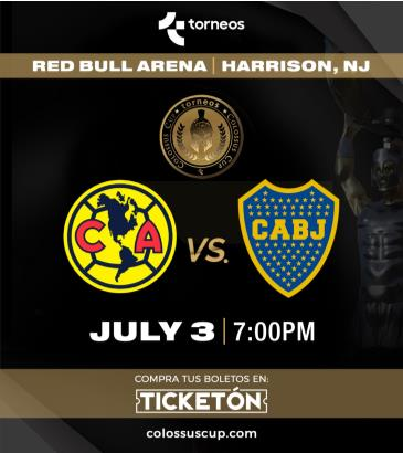 CLUB AMERICA VS BOCA JUNIORS: Main Image