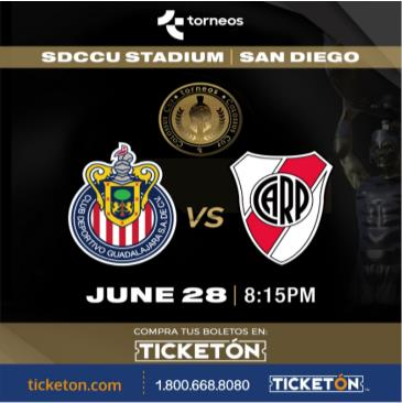 CHIVAS VS ATLETICO RIVER PLATE: Main Image
