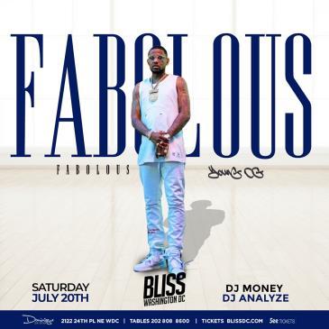 FABOLOUS AT BLISS: Main Image
