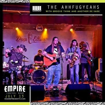 The AhhFugYeahs with Groove Think & Another De Sade-img