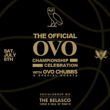 The Official OVO Championship Celebration: Main Image